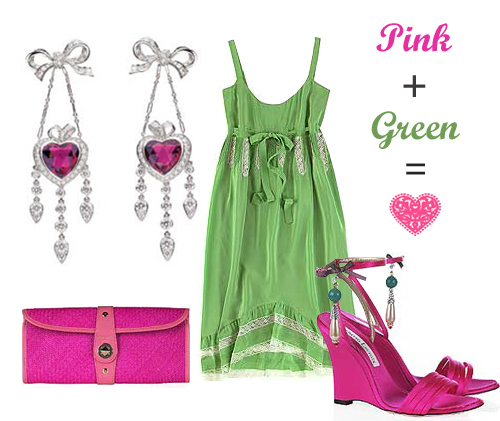 Pink + Green