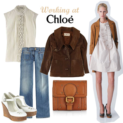 Working at Chloé
