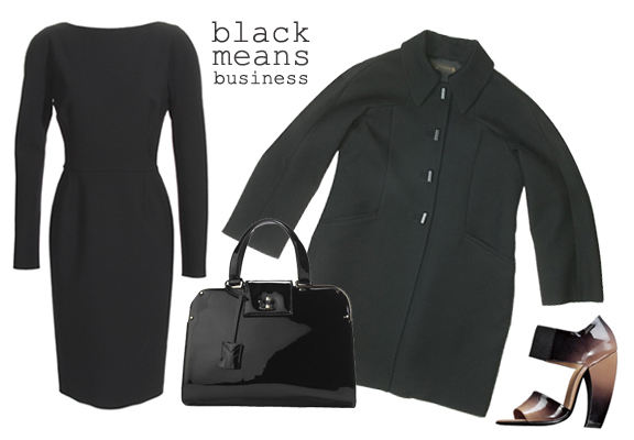 Black means business