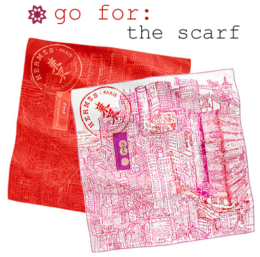Go for scarfs