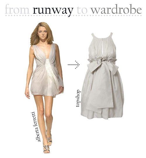 Runway to wardrobe
