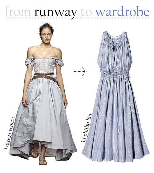 Runway and wardrobe