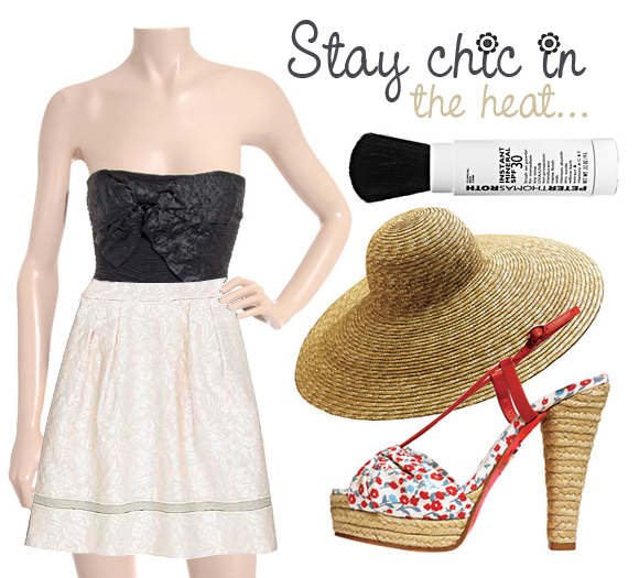 Stay chic in the heat