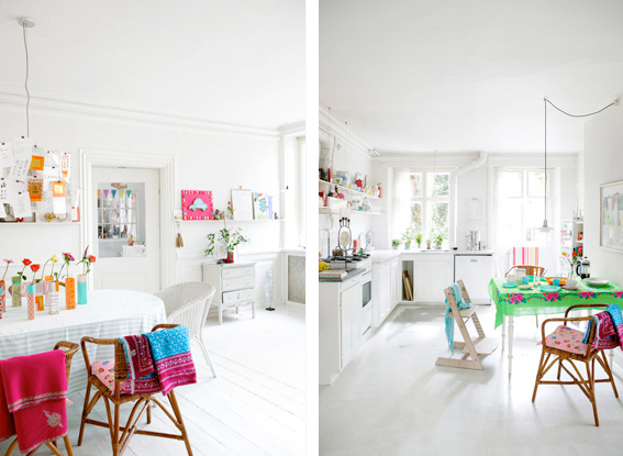 interior design white playful inspiration