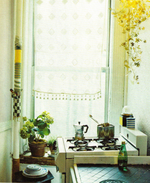 kitchen yellow morning dreamy photography