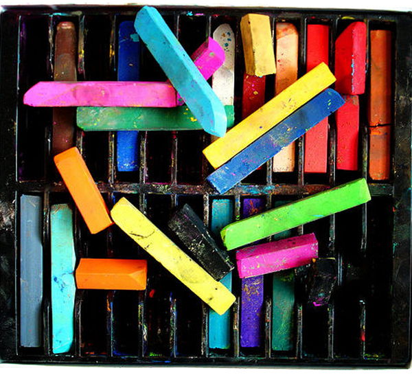crayons colors