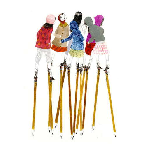 stilts illustration