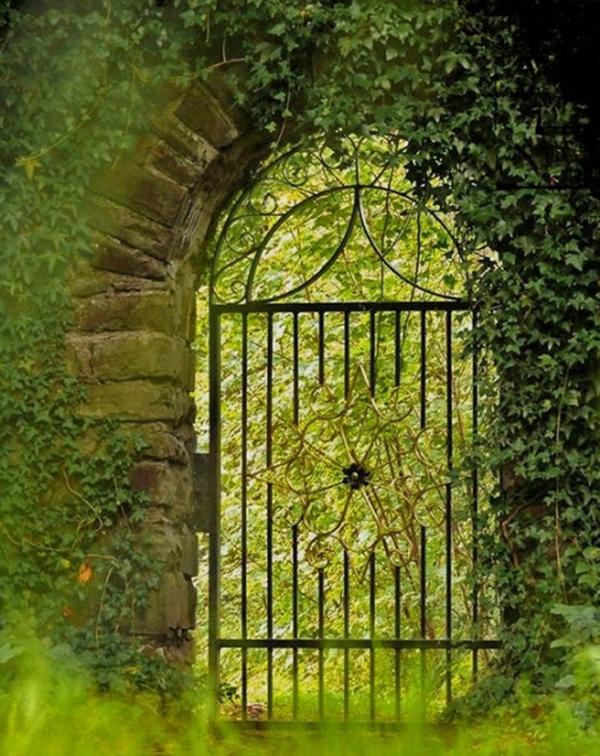 garden, gate