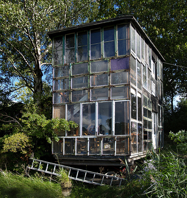 house glass garden