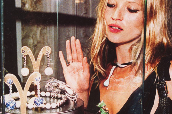 kate moss window shop