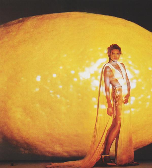 natalia vodianova lemon