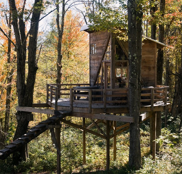 linda aldredge treehouse
