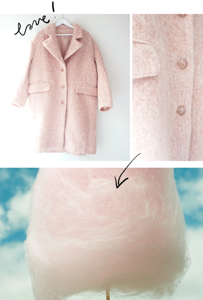 pink hm coat trend autumn 2014
