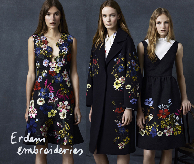 erdem embroideries resort 2016 collection