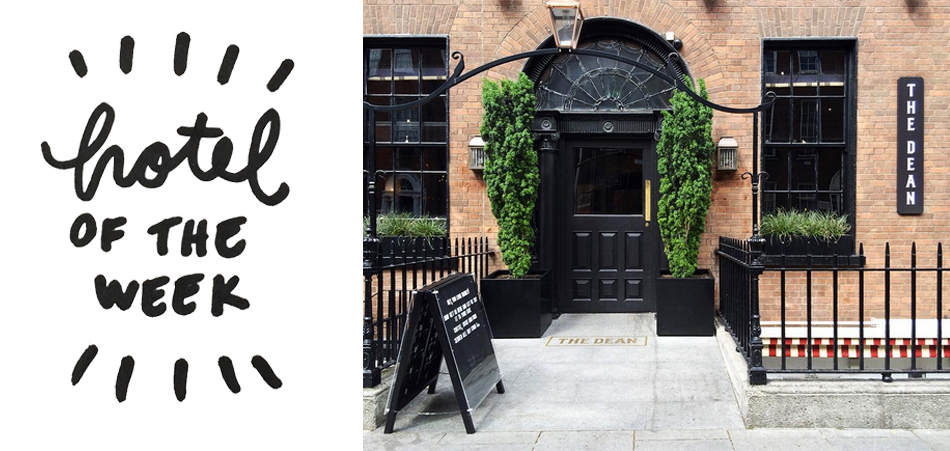 hotel of the week dean dublin where to stay 1